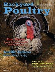 Backyard Poultry turkey cover 2008.