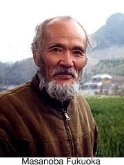 Natural farming pioneer Masanoba Fukuoka.
