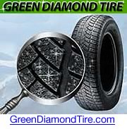 Green Diamond Tire illustration.