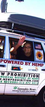 Hemp fueled car.