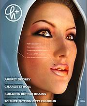H+ Magazine #1 cover.