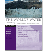 World Water report cover 2008.