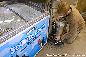 Ben & Jerry's thermoacoustic freezer