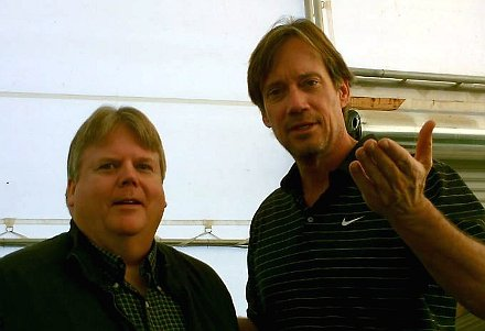 J. Kent Hastings with Kevin Sorbo